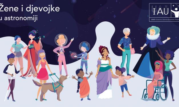 IAU100: slavimo žene i djevojke u astronomiji!