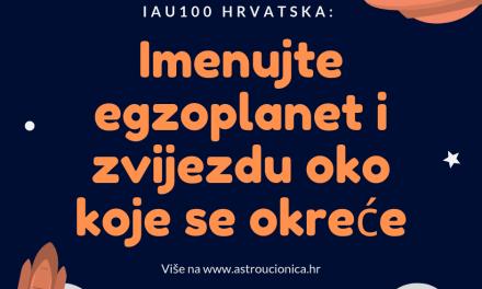 IAU100 Hrvatska: glasajte za ime zvijezde i egzoplaneta koji oko nje kruži